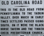 Old Carolina Road